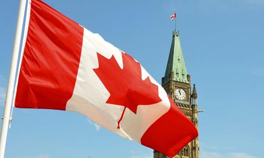 Drapeaux canadiens et provinciaux