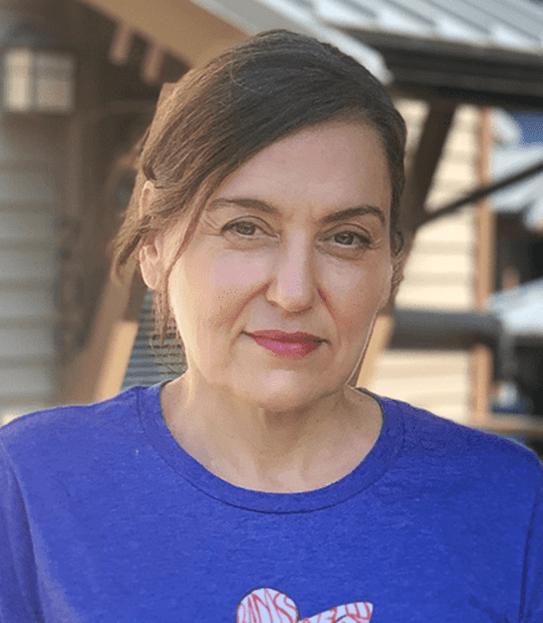 Dianne, ayant survécu au cancer du sein à deux reprises