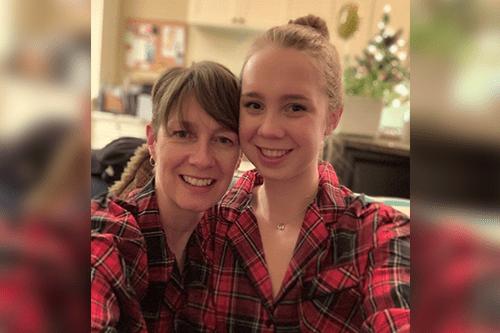 Sara et sa fille