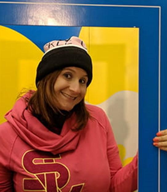 Sarah Midea, survivante du cancer