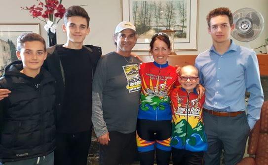 Mena, Jack and family