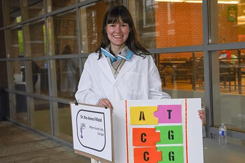 Bre-Anne, chercheuse