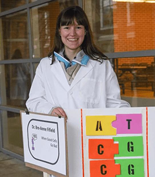 Bre-Anne, Scientist