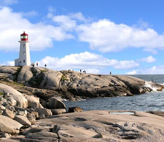 Peggy's Cove in Halifax, Nova Scotia