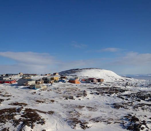Image of the community of Apex, Nunavut
