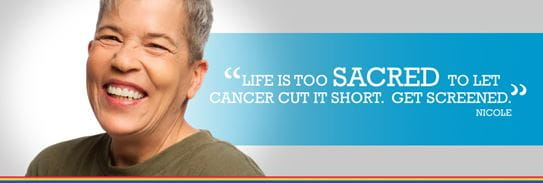 Life is too sacred to let cancer cut it short