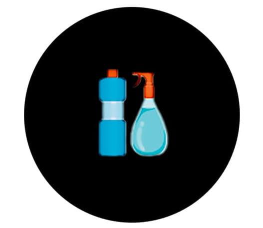 Ammonia bottles