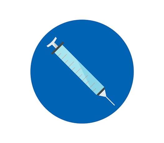 Une seringue