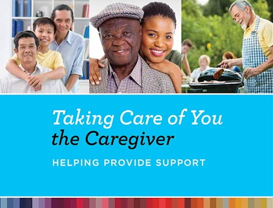 Cover of Taking Care of You the Caregiver available to download
