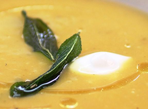 Butternut-squash soup