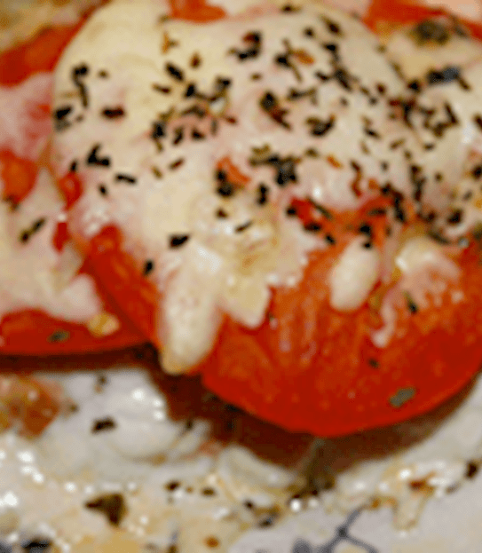 Herb and tomato baked salmon