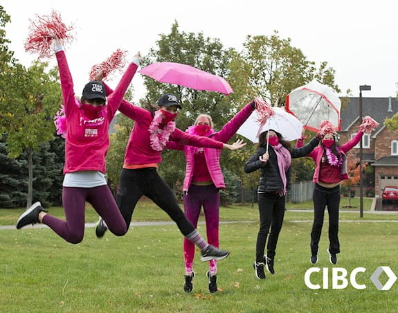 Équipe CIBC à la Course à la vie CIBC