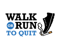 Walk or Run to Quit logo